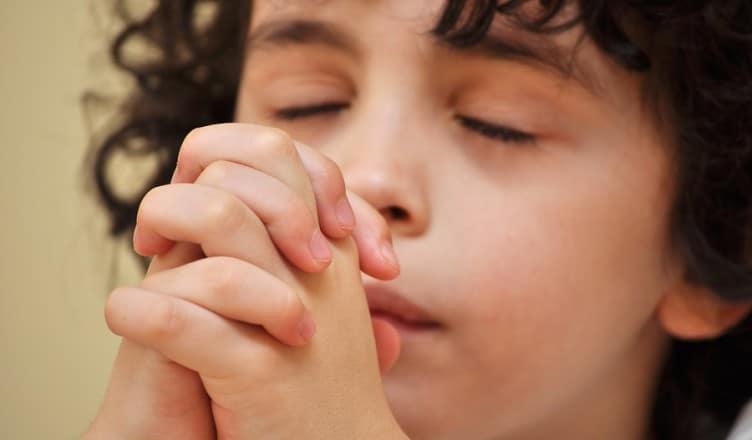Christentum Beten